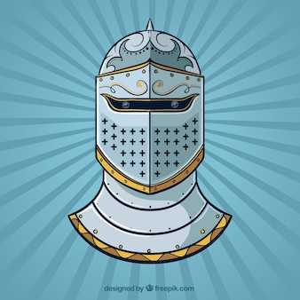 Hand drawn armor background