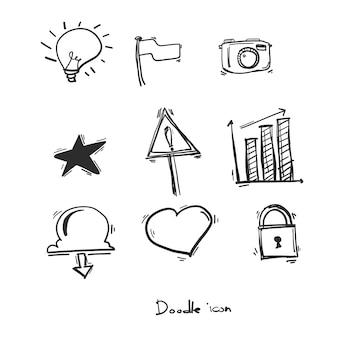 Значок doodle