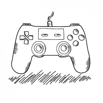 Hand Drawn Game Controller