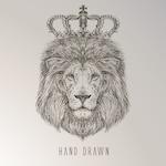 Hand drawn lion king