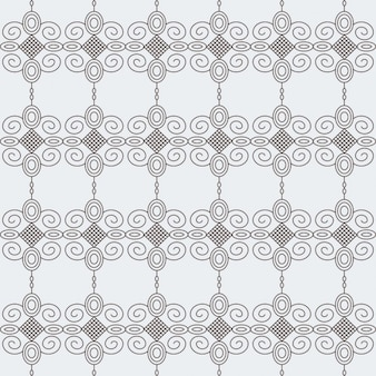Hand drawn ornamental pattern