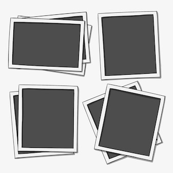Hand drawn pictures set