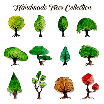 Hand made tree collecti