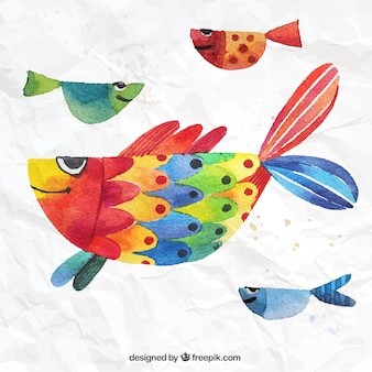 Hand painted fish