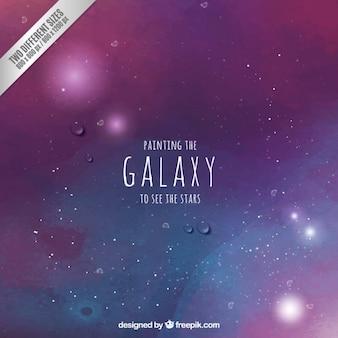 手描き銀河の背景