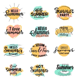 Handmade summer designs