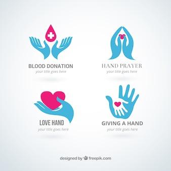 Hands logos