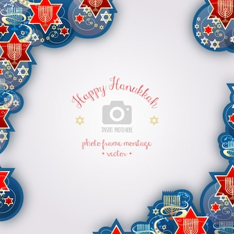 Hanukkah background design