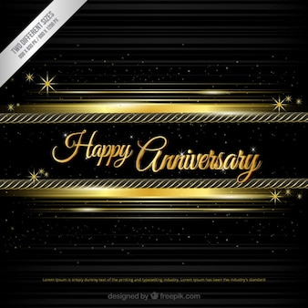 Happy anniversary background in red and black color