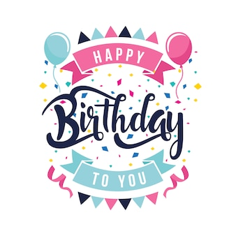 Happy Birthday Vectors, Photos and PSD files   Free Download