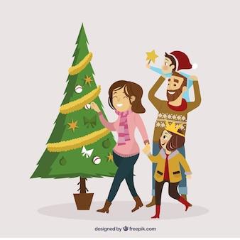 ハッピークリスマスファミリー