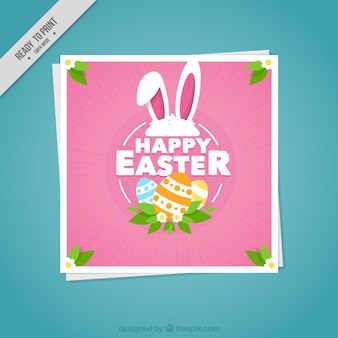 Happy Easter cute cards