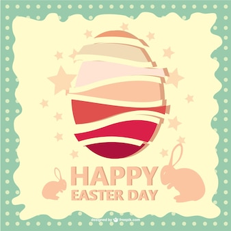 Happy Easter free vector illustration