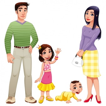 Happy family design