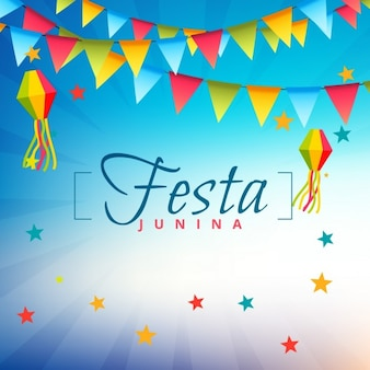 Happy festa junina background