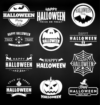 Happy Halloween Design Collection