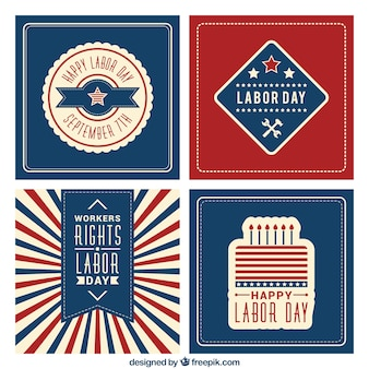 Happy labor day cards