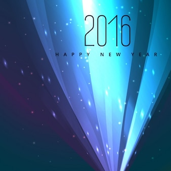 Happy new year neon greeting