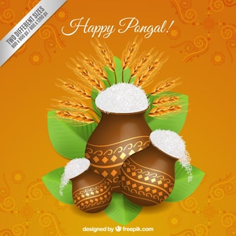 Happy Pongal background