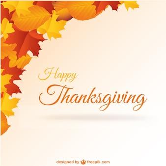 Happy Thanksgiving vector