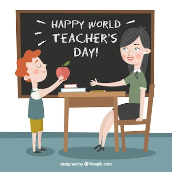 Happy world teacher's day