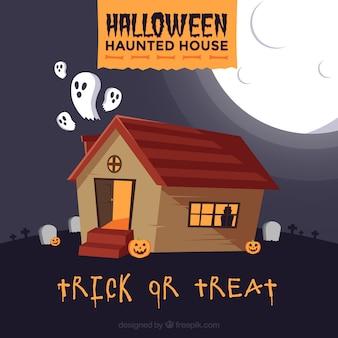 幽霊と幽霊の家