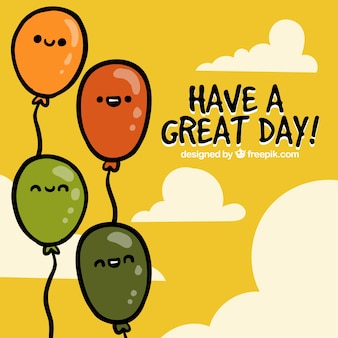 Have a great day, greeting card