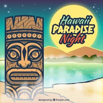 ハワイの楽園ポスター