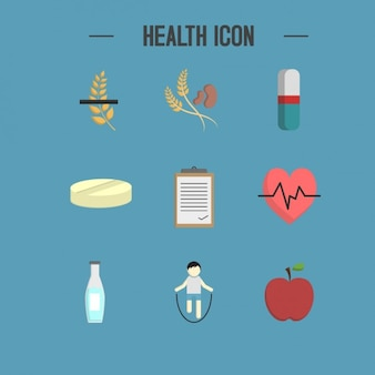 Health icons collection