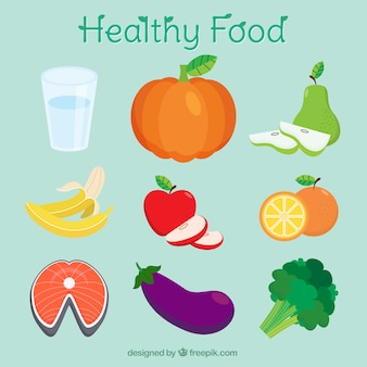 Healthy foods for good nutrition