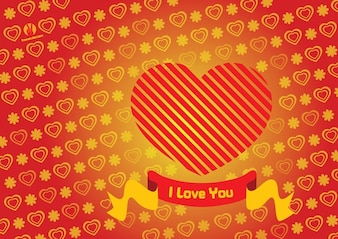 Heart Valentine Card