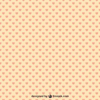 Hearts pattern illustration