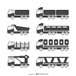 Heavy vehicles set