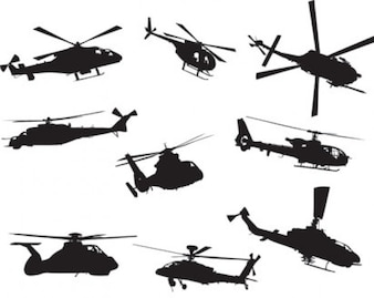 Helicopters collection action