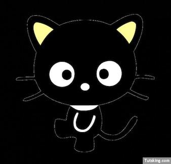 Hello Kitty cute black cat