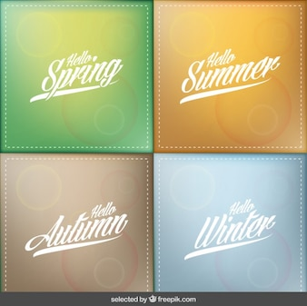 Hello seasons backgrounds