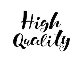 高品質レタリング