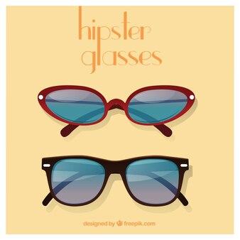 Hipster glasses pack