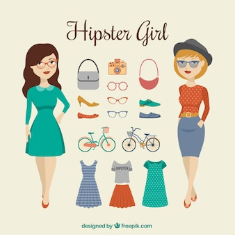 Hispter girl