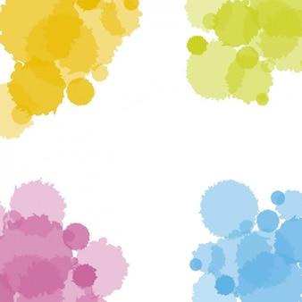 Holi Paint Splashes