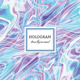 Hologram background