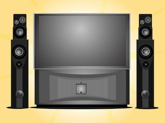 Home entertainment home theater system