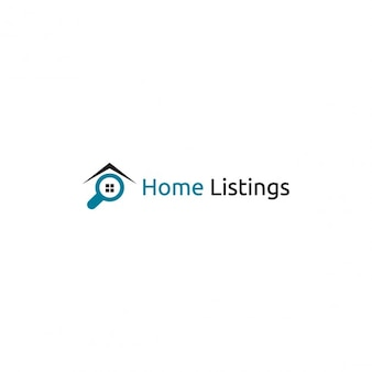 Home listings logo template