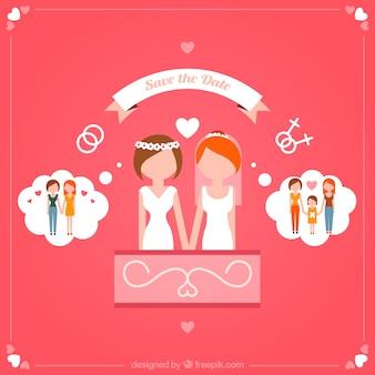 Homosexual wedding