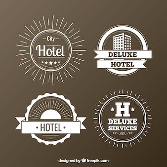 Hotels badges pack