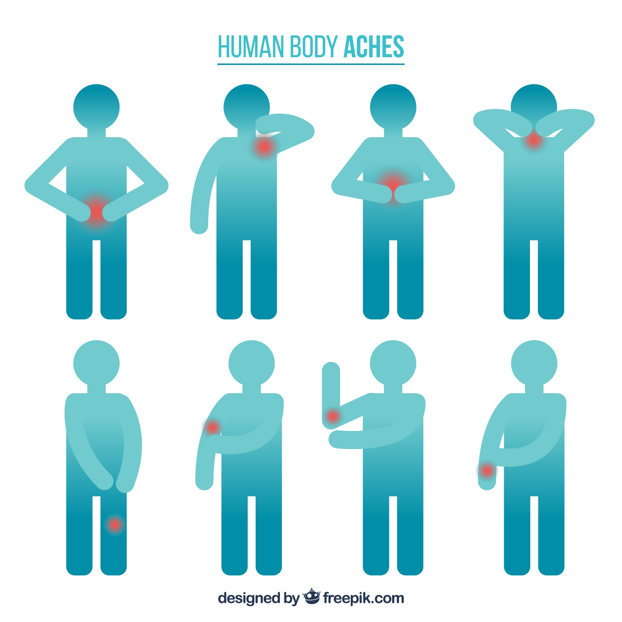 Human body aches