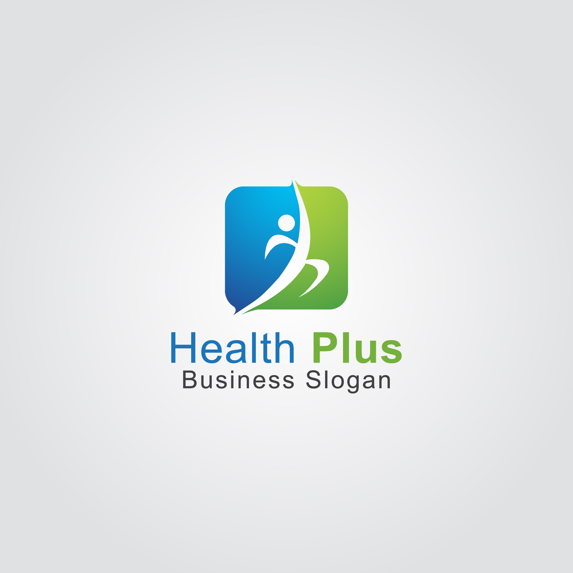 Human health logo design