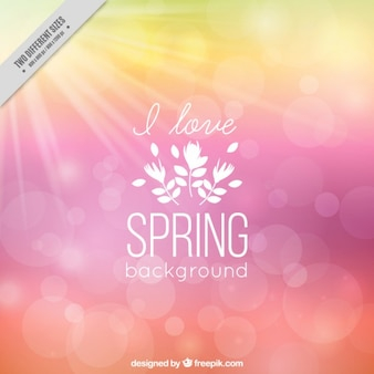 I love spring background