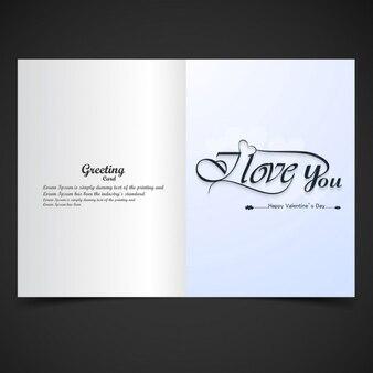 I Love you greeting