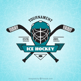 Ice hockey insignia